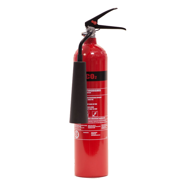 Co2 Fire Extinguisher Aluminium 2 Litre