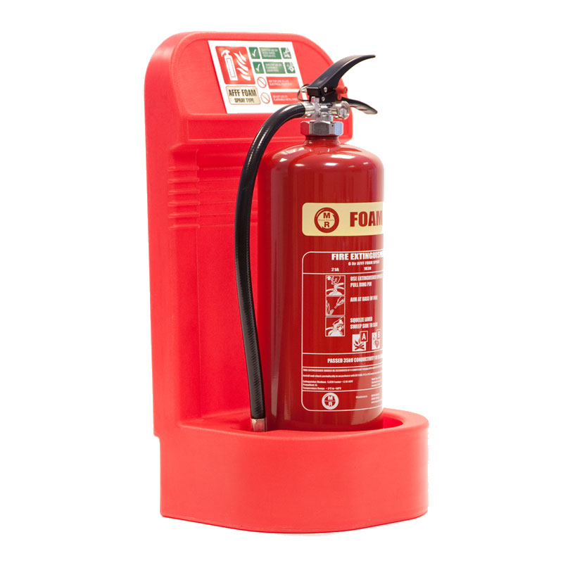 Fire Extinguisher Stand Recessed Base Single