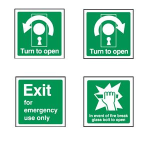 Fire Safety Signs in Sussex